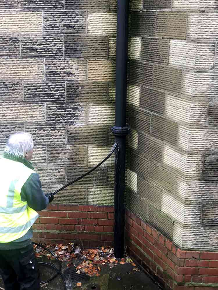 High Pressure Jetting for Drainpipe
